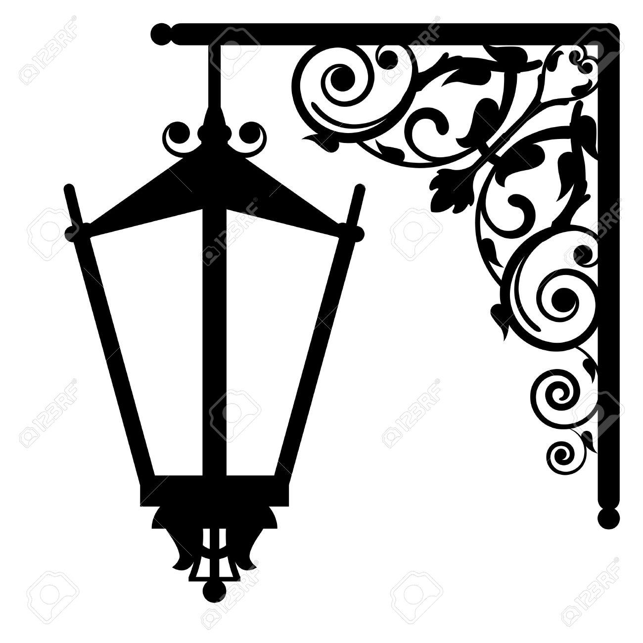 1300x1300 Victorian Clipart Lantern