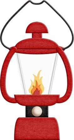 236x448 Camping Lantern Cliparts
