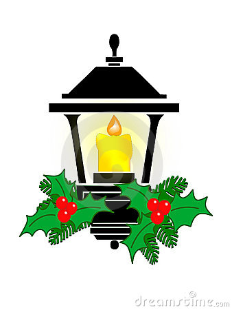 338x450 Clipart Of Christmas Lanterns