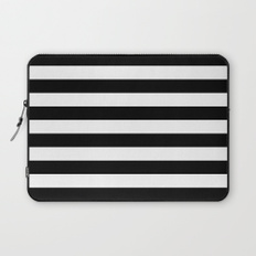 232x232 Black White And Pattern Laptop Sleeves Society6