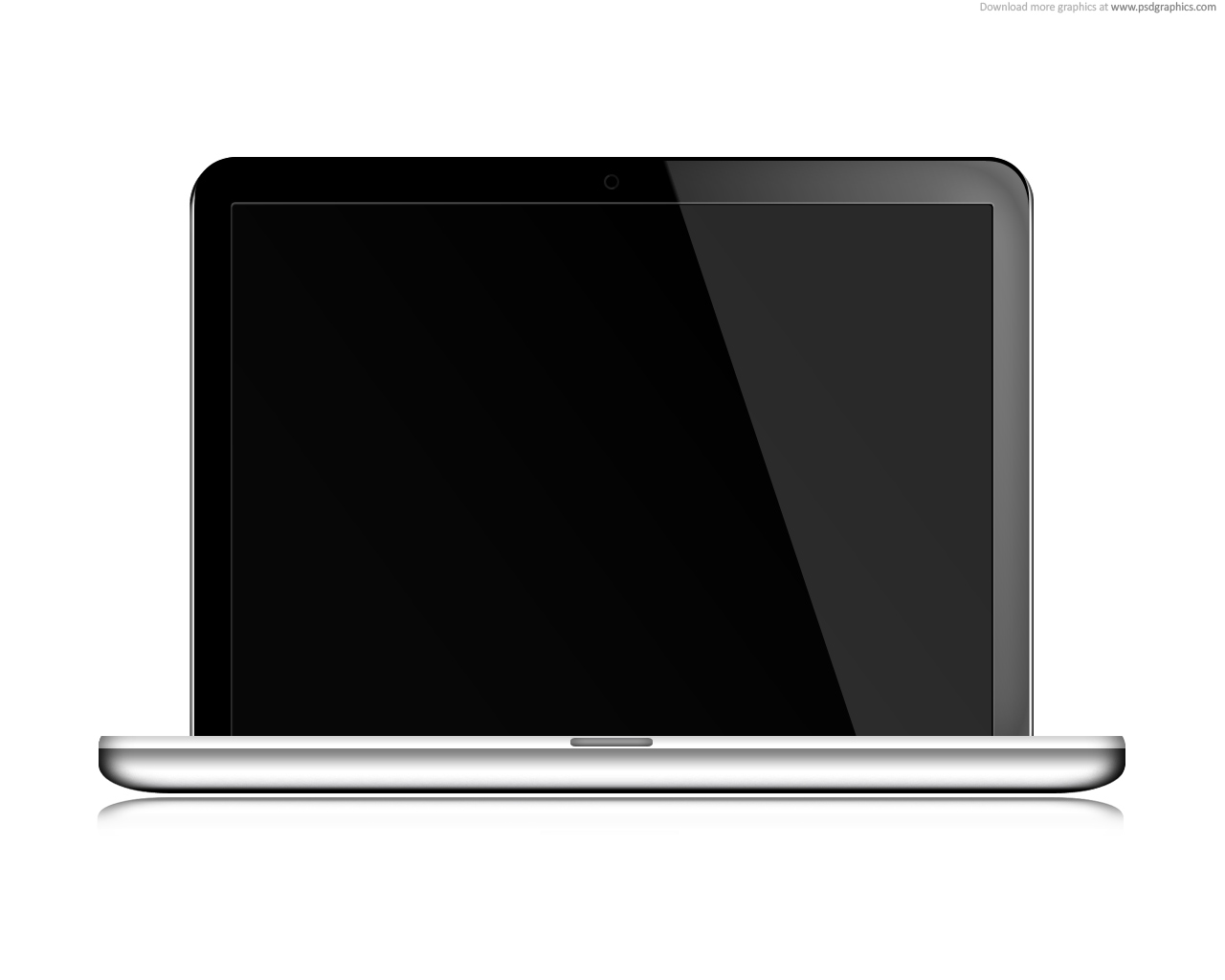 1280x1024 Free Laptop Clipart Black And White Image