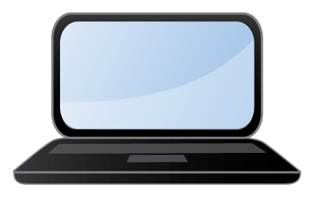455x315 Laptop Clip Art Clipart Panda