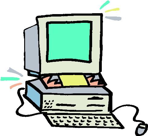 490x453 Clip Art Computer