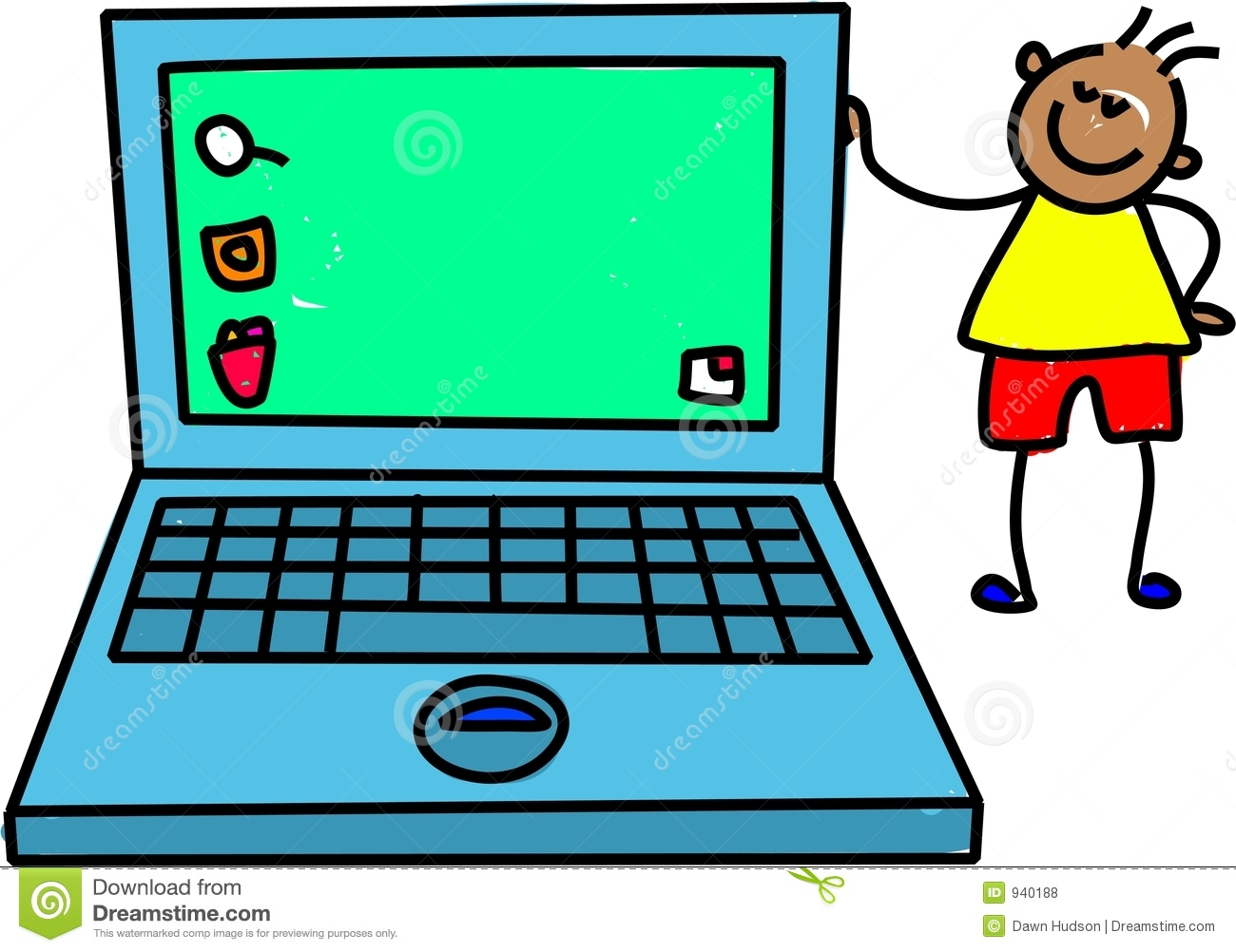 1300x1002 Computer Clipart Laptop