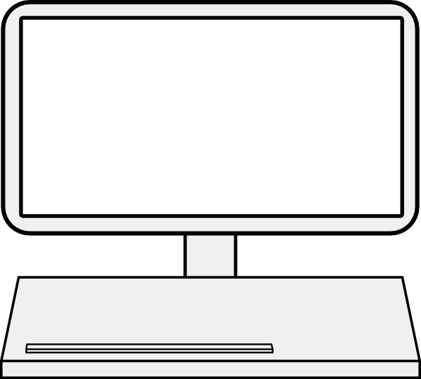 600x540 Display Clipart Laptop Screen