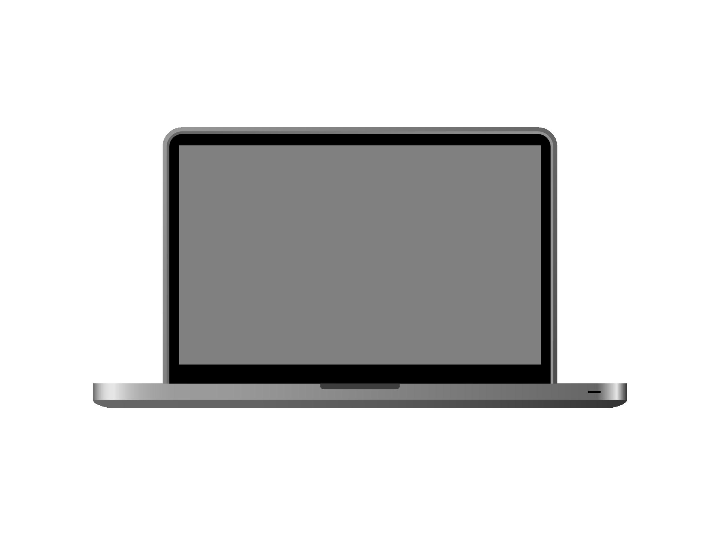 2400x1800 Laptop Clipart Macbook