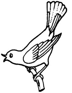 236x305 Bird Clipart Black And White