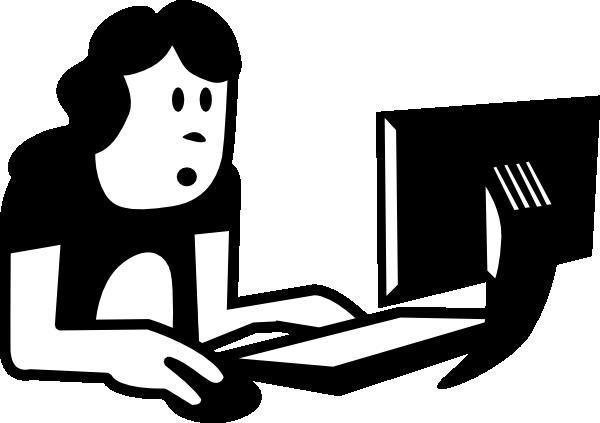 600x423 Student Laptop Clip Art Clipart Panda
