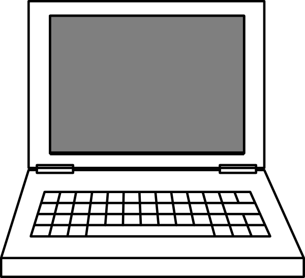 600x547 Laptop Clipart