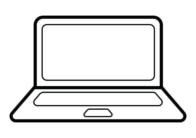 800x566 Laptop Clipart Laptop Clipart Transparent Memocards.co