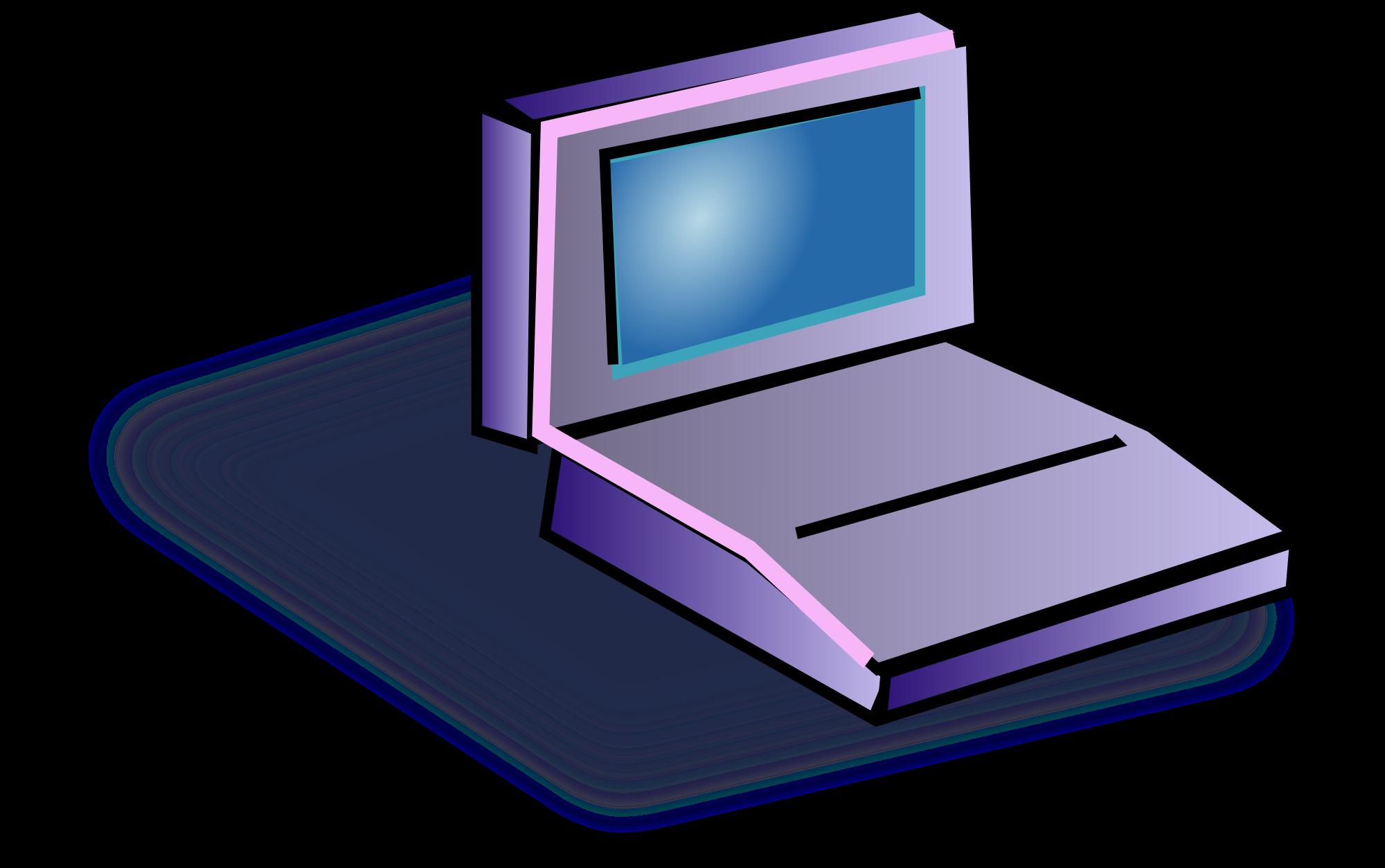 2000x1254 Laptop Clip Art Free Clipart Images Image Clipartcow 2