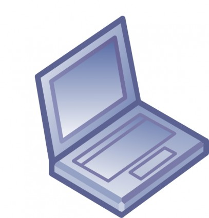 407x425 Laptop Clip Art Free Vector In Open Office Drawing Svg 2