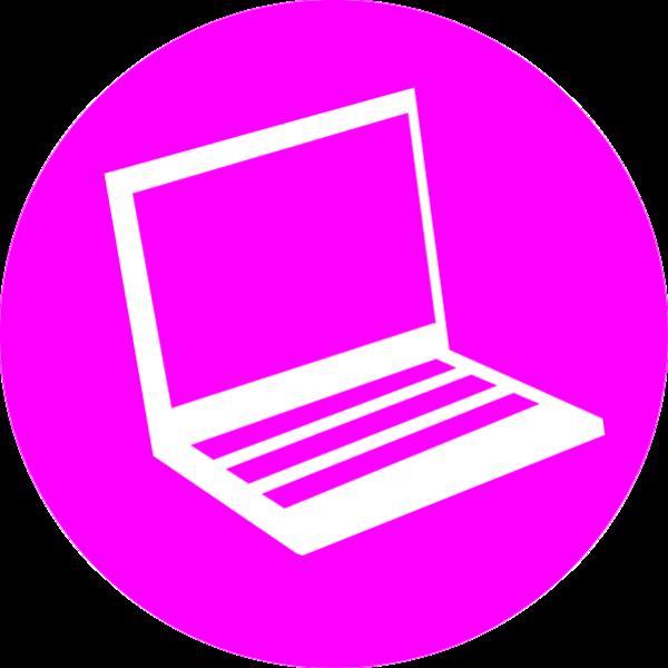 600x600 Icon Laptop Vector Clip Art