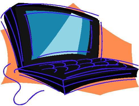 490x372 Laptops Clip Art 4