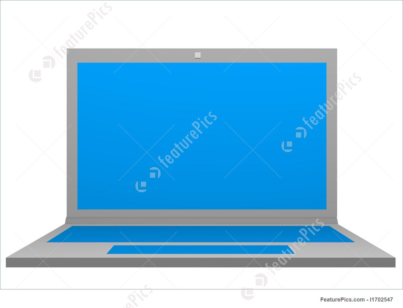 1300x996 Illustration Of Laptop Clip Art