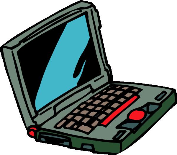 600x523 Laptop Computer Clip Art