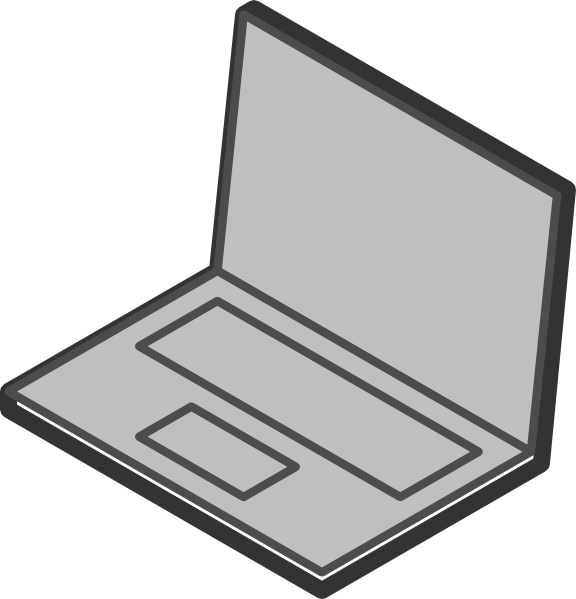 576x599 Laptops Clip Art 3 Wikiclipart