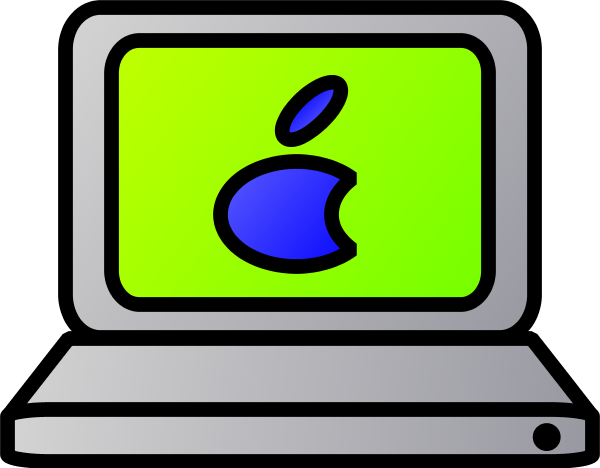 600x468 Macbook Clipart Apple Laptop