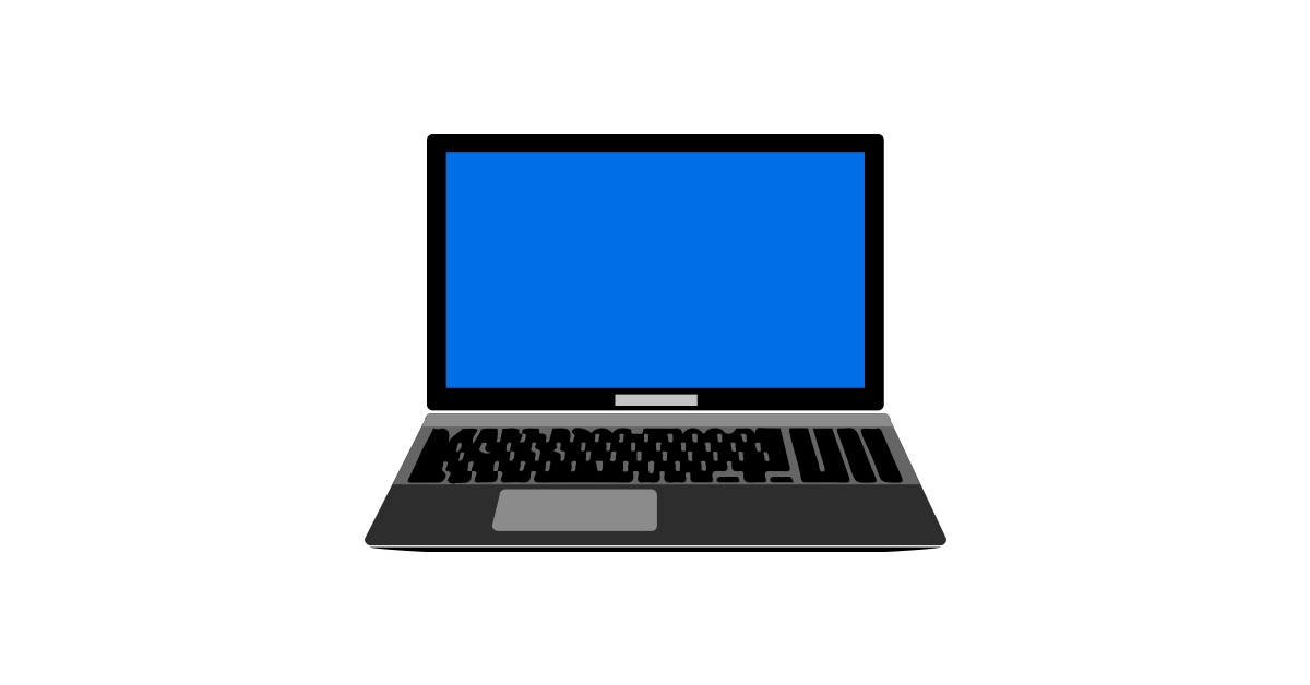 1200x628 Laptop Illustration Vector And Png Free Download The Graphic Cave