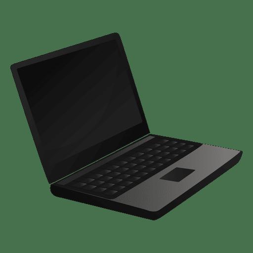 512x512 Laptop Cartoon Icon