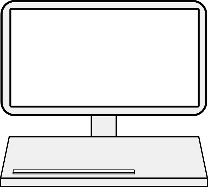 800x720 Laptop Clipart Laptop Screen