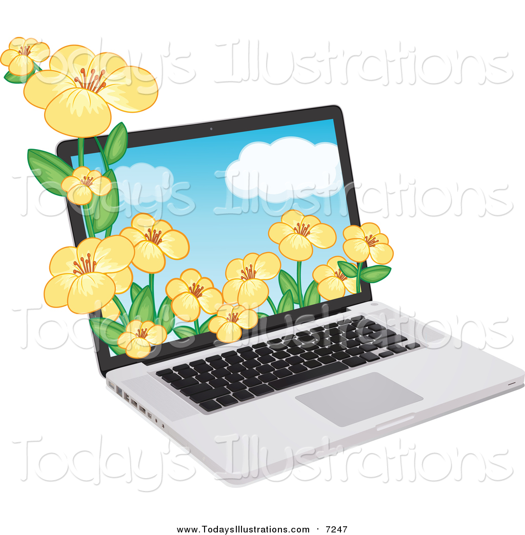 1024x1044 Laptop Clipart Yellow