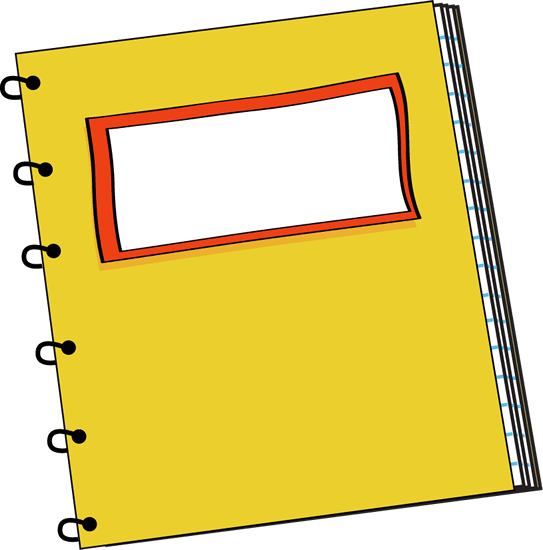 543x550 Notebook Cliparts