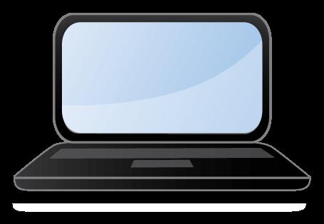 455x315 Student Laptop Clip Art Free Clipart Images Image