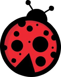 236x297 Clip Art Of Red Ladybug With 7 Black Spots And 6 Legs. 379773