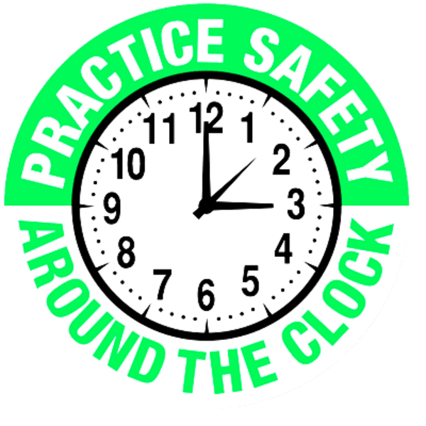 600x600 Practice Safety Hard Hat Label Hh Free Images