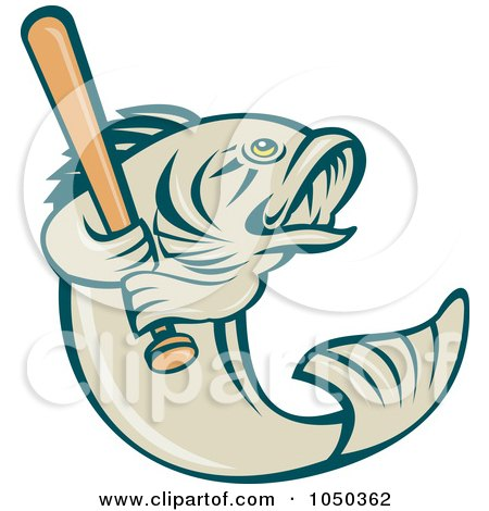 450x470 Royalty Free (Rf) Bass Fish Clipart, Illustrations, Vector Graphics