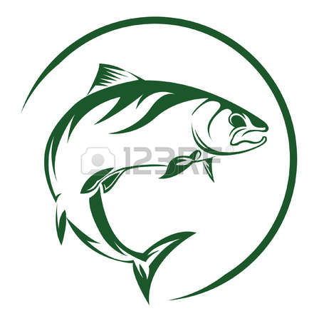 441x450 Salmon Fishing Clipart, Explore Pictures