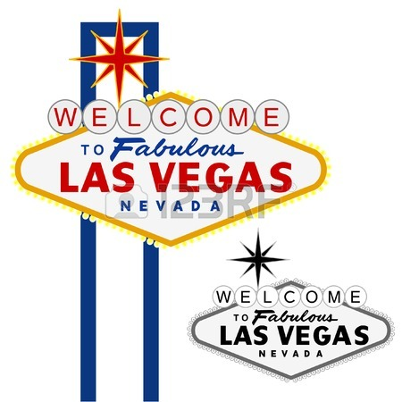 450x450 Vector Las Vegas Sign, Fully Editable Royalty Free Cliparts