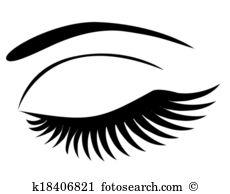 230x194 Eyelash Clipart Eyes Shut