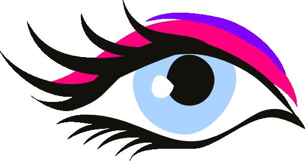 600x316 Occhio Innamorato Pink Long Lash Clip Art