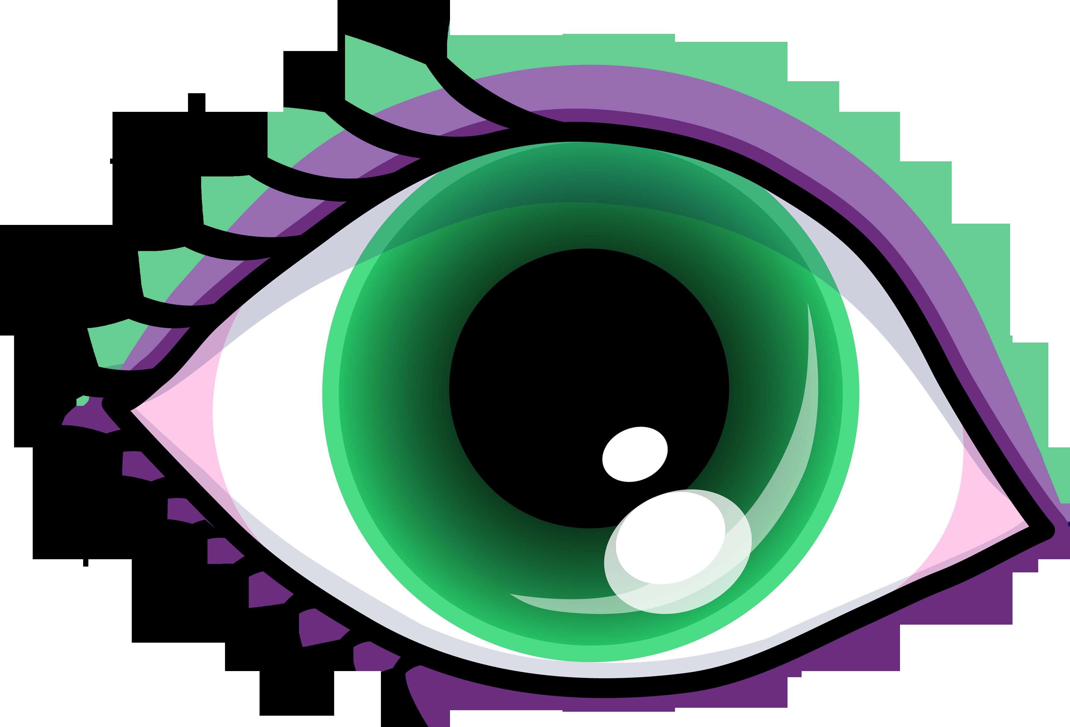 3500x2379 Pretty Green Eye With Shadow