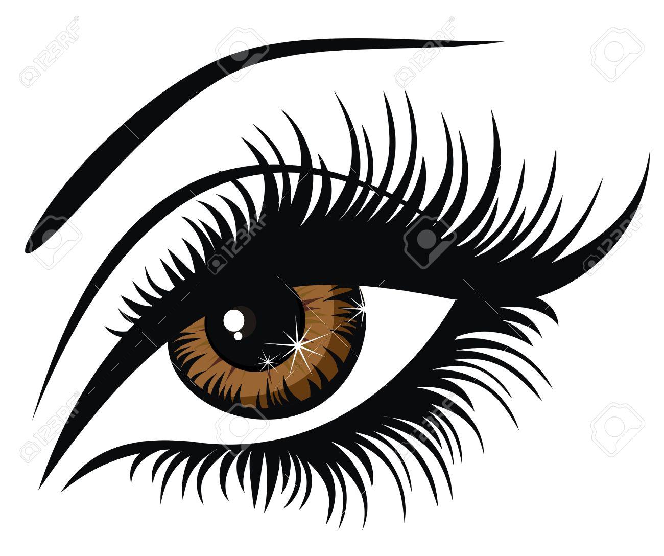 1300x1088 Eyelash Clip Art