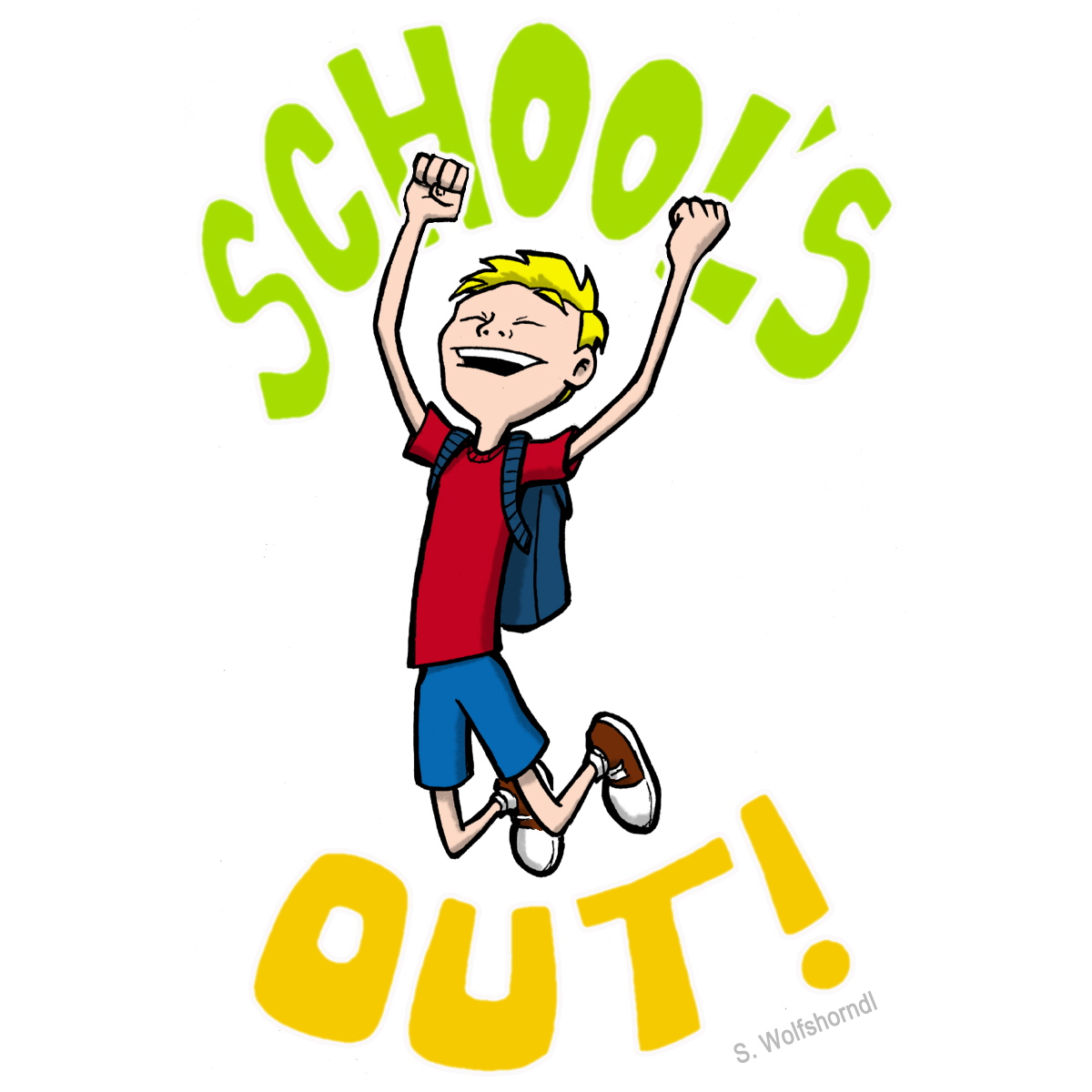 1200x1200 Last Day Of School Clipart