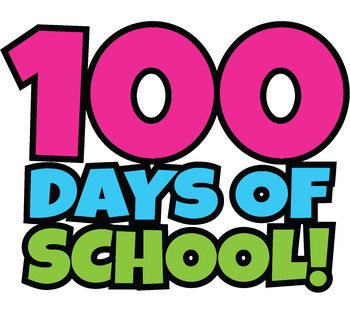 350x310 100 Days Of School Clipart Happy 100th Day Of School Clip Art!