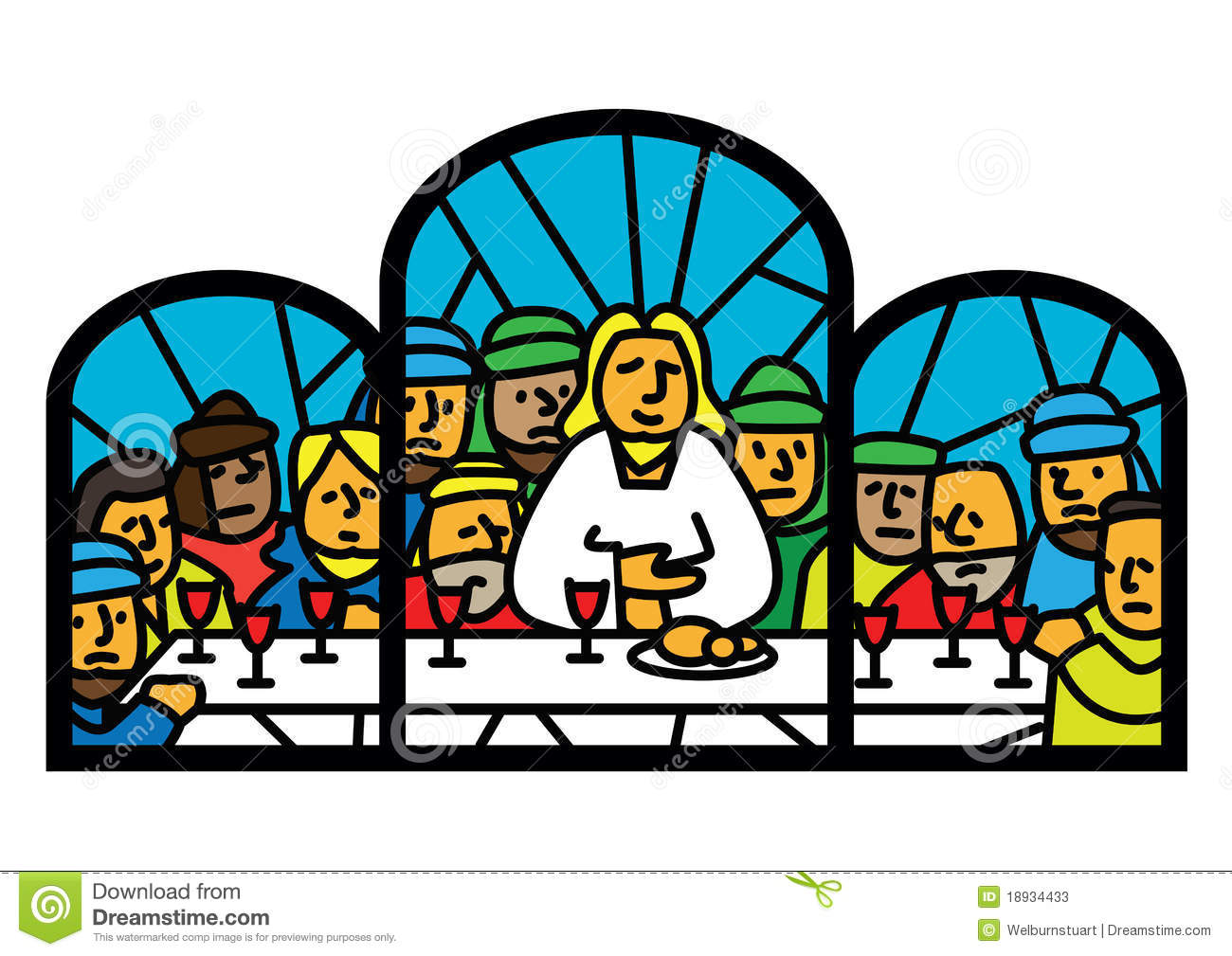 1300x1009 Clipart Last Supper