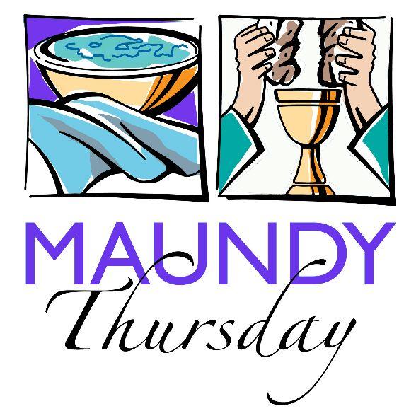 588x581 Maundy Thursday Clipart