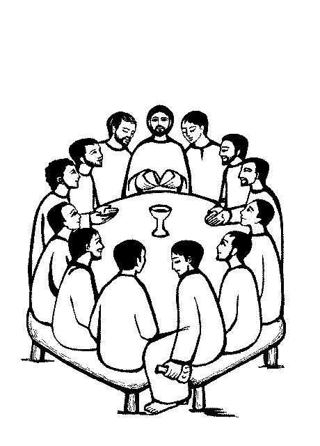 460x640 Bread Clipart Last Supper
