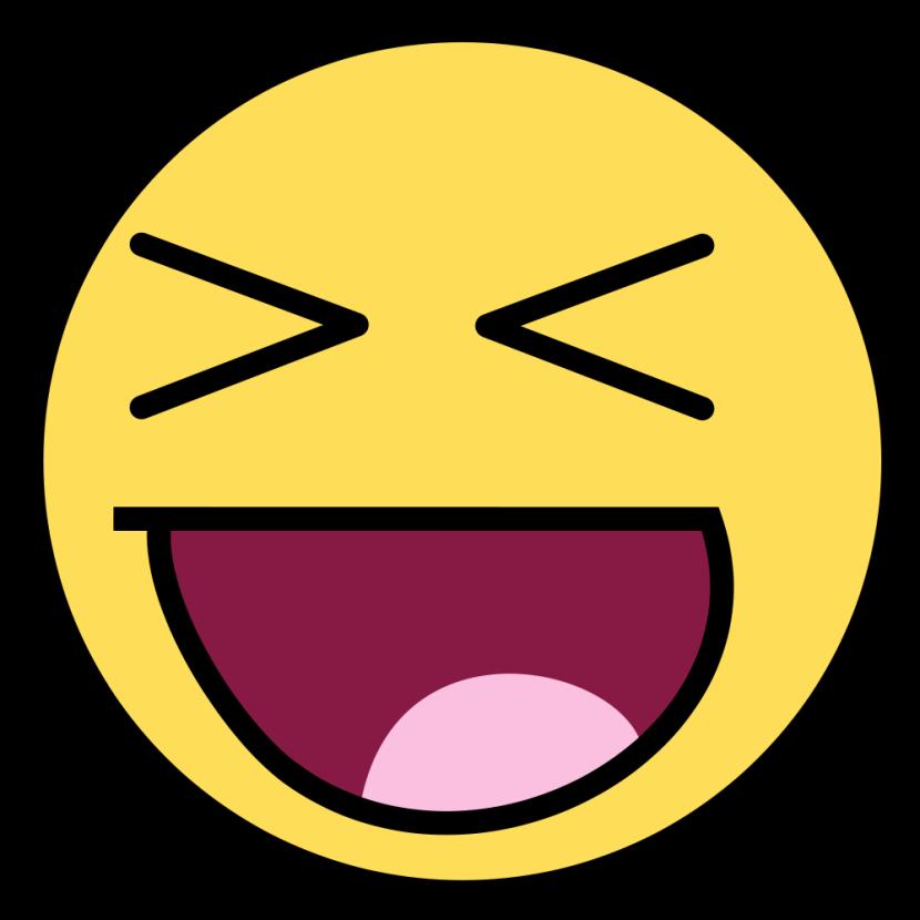 830x830 Smiley Clipart Laugh