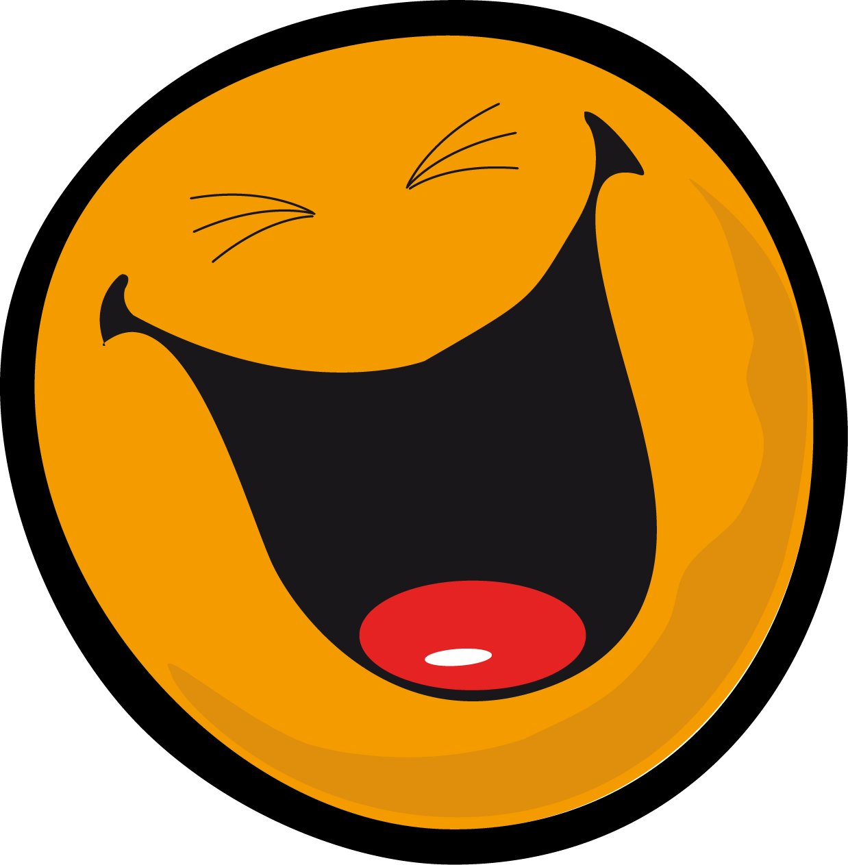 1238x1263 Very Laugh Face Smiley Clipart