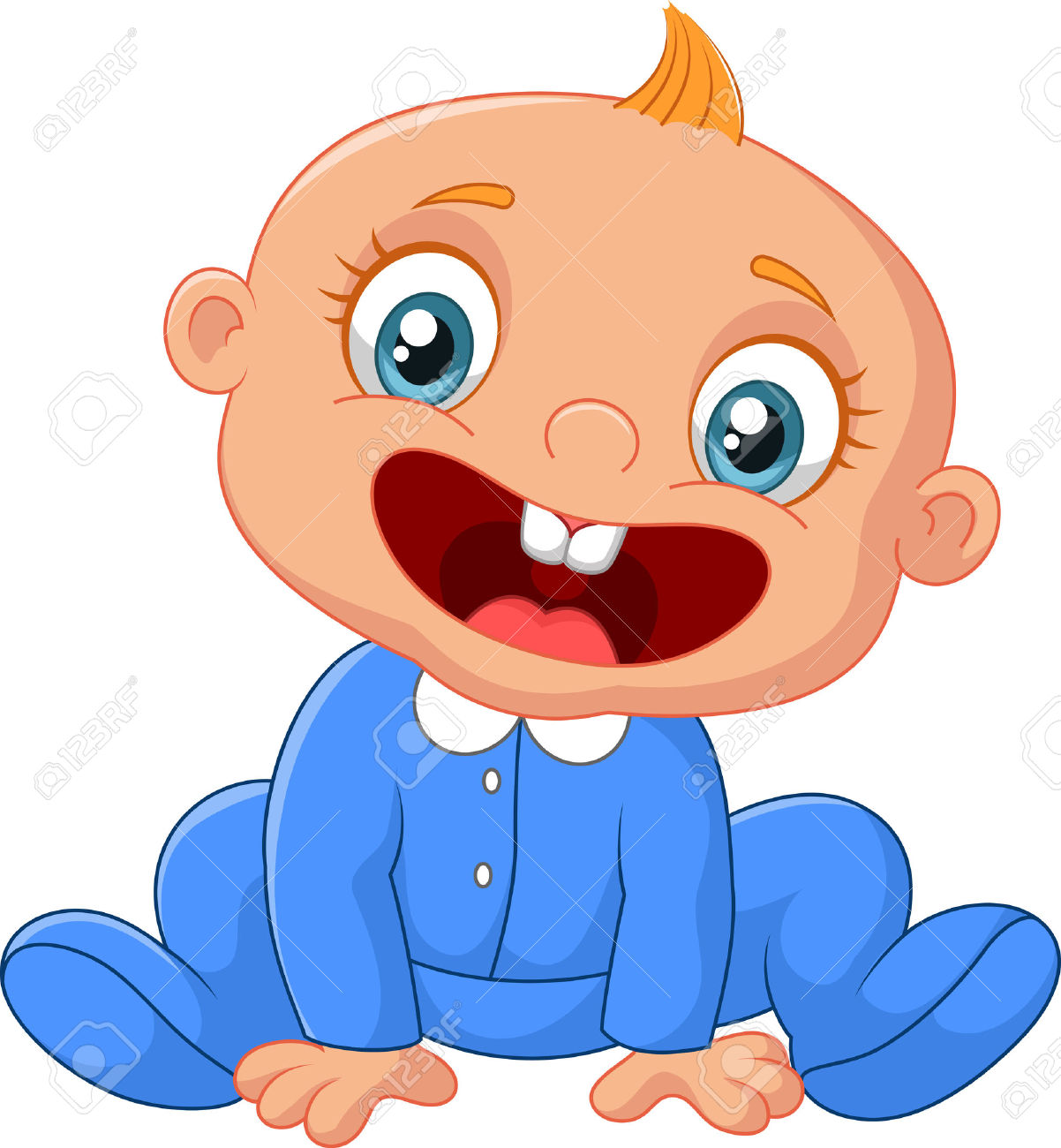 Laughing Baby Clipart Free Download On Clipartmag