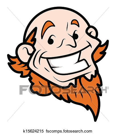 407x470 Clipart Of Cartoon Uncle Sam Laughing Face K15624215