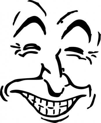 348x425 Laughing Clip Art, Vector Laughing