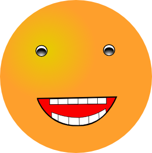 297x298 Laughing Smiley Clip Art