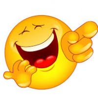 200x200 Clipart Laughing Face
