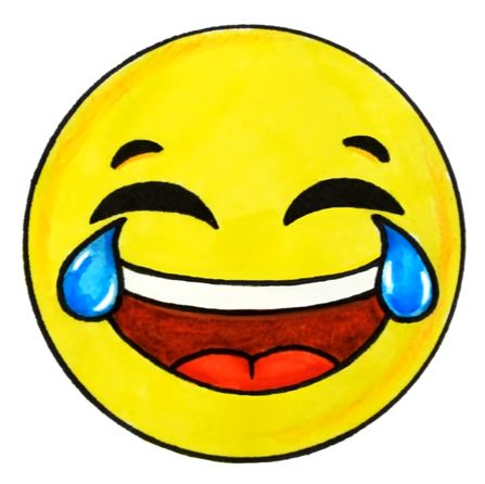 447x446 Best Laughing Emoji Ideas Laughing Emoticon
